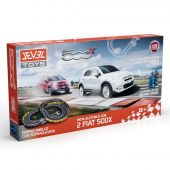 ELECTRIC CAR SET WITH 2 FCA Fiat 500X (κλίμακα 1:43)