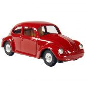 VW Beetle red 1:32 FREE WHEEL