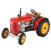 Windup metal tractor 1:25