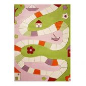 Playing rug 'Playway pink' 134x180 cm