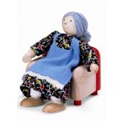 Doll house grand motherDoll