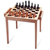 Chess table drawers news