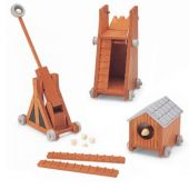 Catapult set 3pcs for Castle
