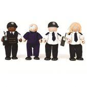 pin police and prisoners 11cm