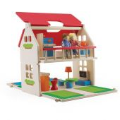 Pin Toys PACK & GO BALCONY DOLLS HOUSE