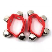 Wrist - Ankle Bells Red