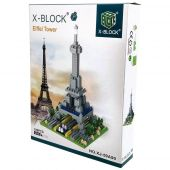 Building blocks eiffel tower