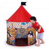 Pop-Up Tent Pirate Playhouse