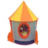 Pop-Up Tent Rocket Ship Playhouse