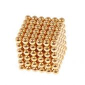 Magbol diameter 5mm Magnetic Cube (Gold color)
