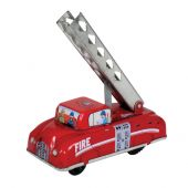 Collector tin fire engine