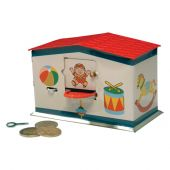 Collector tin Toy bank