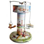 Collector tin Carousel 'Airport' for collectors only