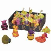 B.Toys Assortment of 3 little squirty animals