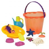 B.Toys Large Bucket Set (Papaya)