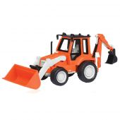B. Driven Mini Backhoe Loader