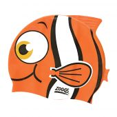 Zoggs Junior Character Cap Goldfish Orange