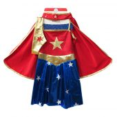 Great Pretenders Superhero Girl (Tunic, Cape and headpiece) 5-7 years LIMITED EDITION