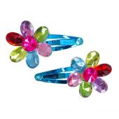 Great Pretenders Flower Gem Hairclips - 2 pcs