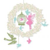 Djeco Little Big Room Enchanting mobiles Mini-mobile - Little fairy - FSC MIX
