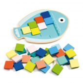 Djeco Educational wooden games Mosa Color