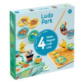 Djeco Educational wooden games LudoPark - 4 games