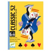 Djeco Playing cards Classic 52