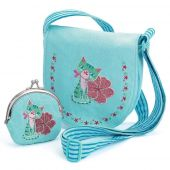 Djeco Role play - Charms Embroidered kitten bag and purse