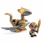 Djeco Chrome and Inferno Arty Toys - Knights