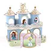Djeco Arty Toys - Princesses Ze Princesses Castle