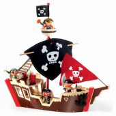 Djeco Arty Toys - Pirats Ze pirat boat