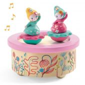 Djeco Magnetics music boxes Flower Melody
