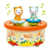 Djeco Magnetics music boxes Twins Melody