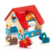 Djeco Wooden puzzles The small farm