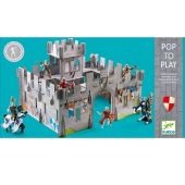 Djeco Pop to play Medieval castle 3D