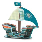 Djeco Pirate boat 3D