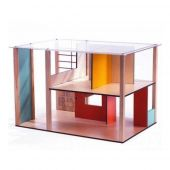 Djeco Cubic house (House sold empty) Doll's houses