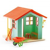 Djeco Doll house Garden playhouse