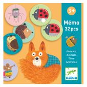 Djeco Educational games Memo Animals