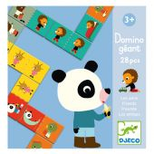 Djeco Educational games Giant domino - Friends