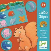 Djeco Educational games Lotto - Animals