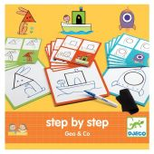 Djeco Eduludo Step By Step Geo and Co