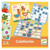 Djeco Educational games - Eduludo Coloformix