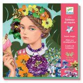 Djeco For older children - Sequin pictures Merry and smart