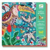 Djeco For older children - Sequin pictures Flamboyant