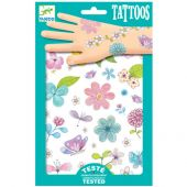 Djeco Tattoos - Flair flowers of the fields