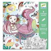 Djeco Small gifts - Colouring surprises Under sea
