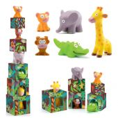Djeco Blocks for infants Maxi Topanijungle