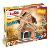 Teifoc Solar powered - Watermill (380 parts) 2 possible models