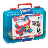 B. Bristle Blocks 113pcs in carry Case